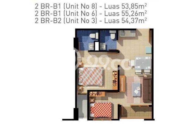 Hot Listing : 2BR Aspen Residences Dijual Dalam Kondisi Tersewa 12339049
