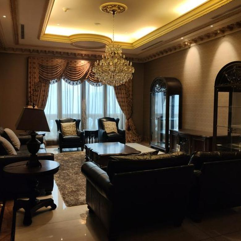 Apartemen Da Vinci 4 BR Lux Furnished Harga Bawah Pasar MURAH [Turun Harga]