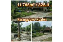 Rumah Lt 765m Karangdowo Klaten Jawatengah
