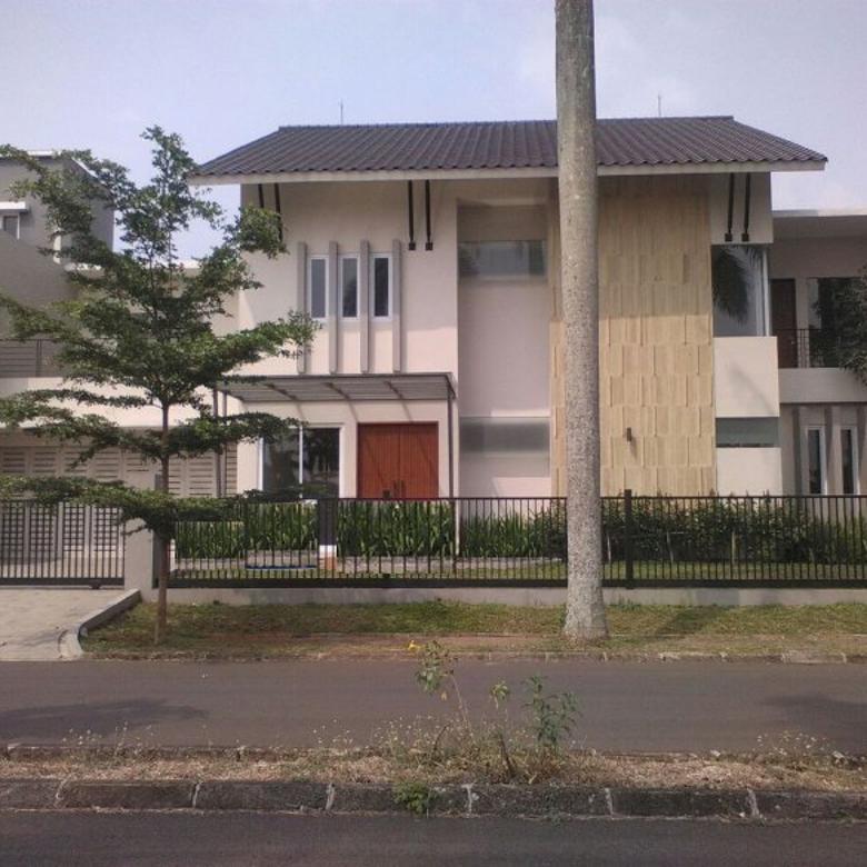 Rumah di Nava Park baru siap huni, Mewah dan Cantik di bsd