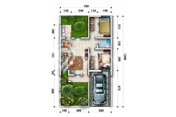 Rumah 1 lantai tanah luas dekat toll jatiasih bekasi | 0 16225349