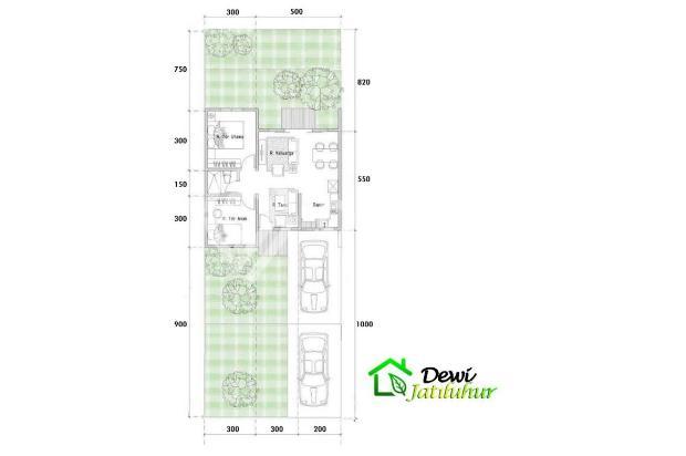 Rumah 1 lantai tanah luas dekat toll jatiasih bekasi | 0 16225351