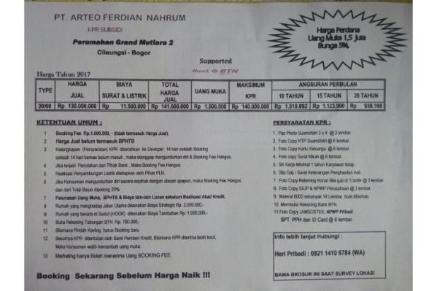 Image Result For Perumahan Subsidi Pemerintah Jakarta