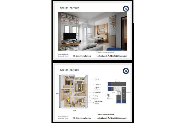 Rp909jt Apartemen Dijual