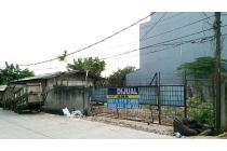 Tanah Murah uk 23x20m posisi Hoek Jalan Lebar di Jelambar