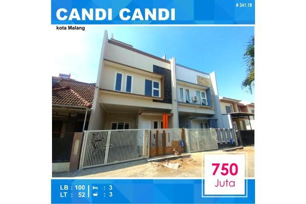 Rumah Baru di jalan Candi Candi Blimbing kota Malang _ 341.18 18270677