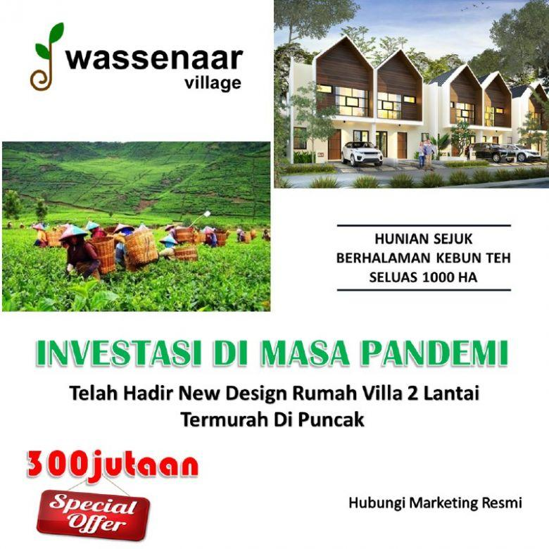 Investasi Condovilla Wassenaar Village Puncak Gratis Biaya IPL