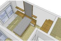 Apartment Modern 1 Bedroom siap huni di Parahyangan Residence