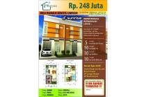 Rumah 2 Lantai, Strategis di Barat Masjid Agung AlAkbar Surabaya