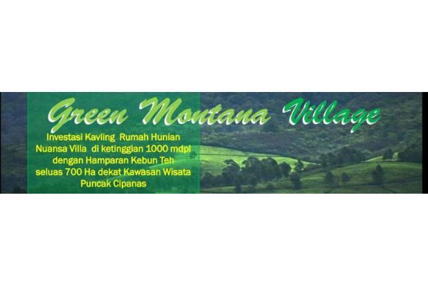 Kavling Hunian di Puncak, 60jutaan/Kavling Green Montana Village 17149774