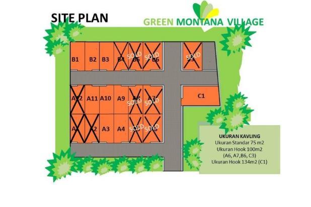 Kavling Hunian di Puncak, 60jutaan/Kavling Green Montana Village 17149777
