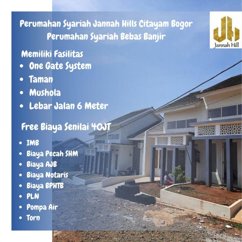 Rumah Bebas Banjir di Citayam Ready Stock