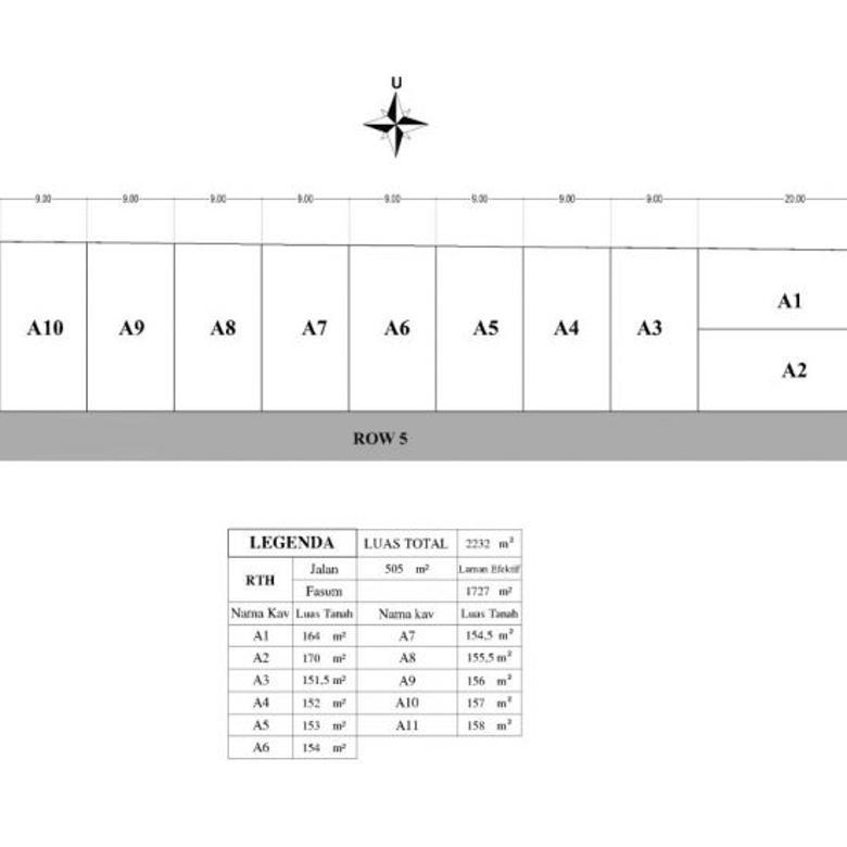 Investasi Tanah Barat Jln Kaliurang Km.13 Luas 140-an, SHM-P