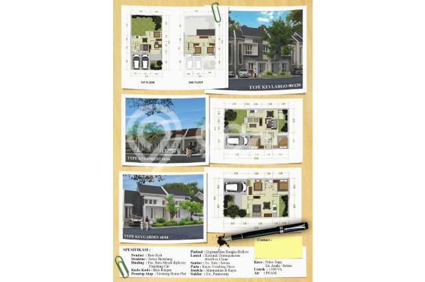 rumah siap huni tanpa dp free biaya kpr lokasi strategis 15005241