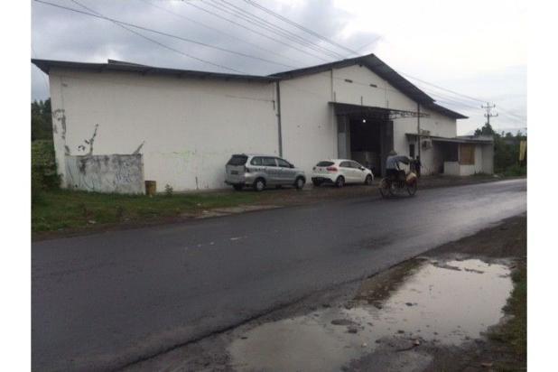 Gudang Dijual Jogja Selatan di Jl. Imogiri Barat Bangunan Baja 8057899