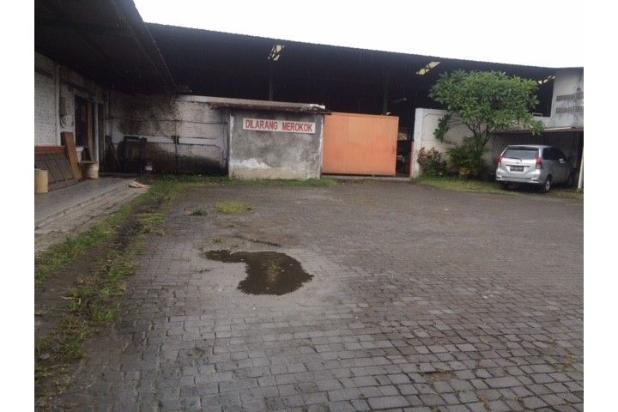 Gudang Dijual Jogja Selatan di Jl. Imogiri Barat Bangunan Baja 8057897