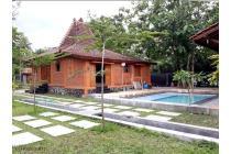 Villa Joglo Mewah LT 1300 m2 Fasilitas Kolam Renang di Sleman Yogyakarta