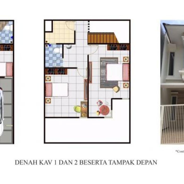 Rumah Baru Gress 2 Lantai Minimalis Di Lontar Surabaya Barat