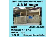 Rumah Minimalis Siwalankerto Permai KT 3 KM 2 LT 122.5 dan LB 70