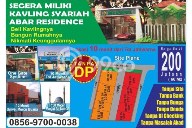 Dijual Kavling Syariah Abar Residence. tanpa bank tanpa bunga tanpa sita 11374439