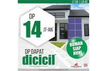 DP 14 Jtaan Rumah Tipe 42 di Lokasi Strategis Kota Banjaran