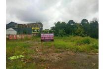 Tanah dijual Pinggir jalan Raya Utama Kali mulya