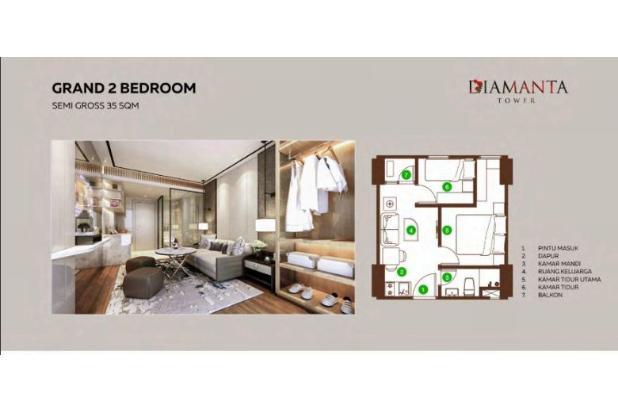 Rp323jt Apartemen Dijual