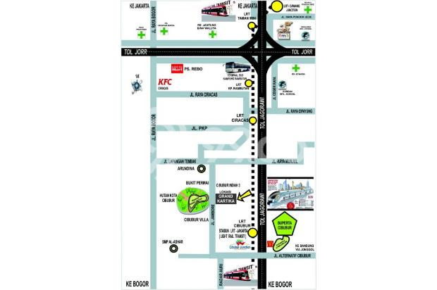 Rumah dilingkungan Asri dan Nyaman harga terbaik di Cibubur Jakarta Timur 17699341