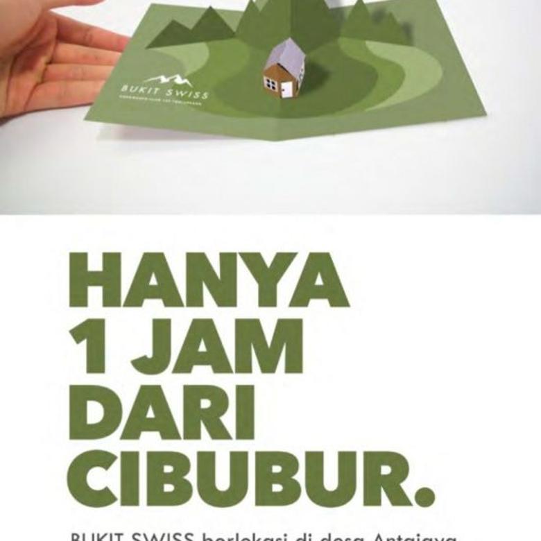 Dijual Tanah Siap Bangun di Bukit Swiss 2, Bogor