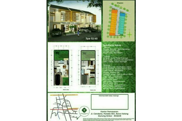 Dijual rumah Cluster Mewah 2 lantai harga termurah 13960327