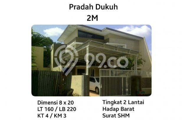 Rumah Pradah Selangkah dengan HR Mohammad Siap Huni MURAH 8342799