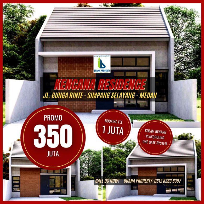 Rumah 300 Jutaan Bunga Rinte Simpang Selayang Medan