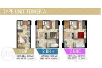 Apartement Gunawangsa Tidar Tower A