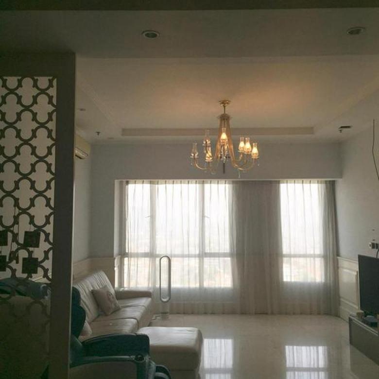 Apartemen Somerset Berlian Permata Hijau lantai tinggi siap huni