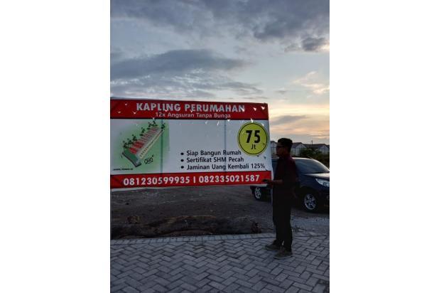 Rp75,6jt Tanah Dijual