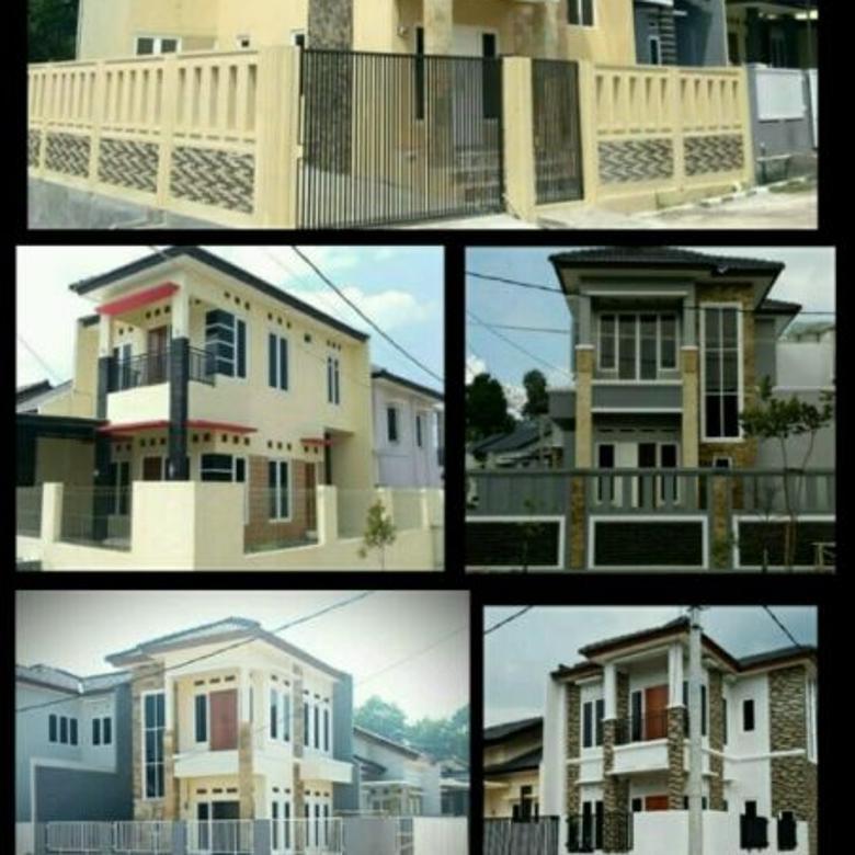 Rumah Baru dijual di Cimanggis, Lingk. Nyaman, Free Design