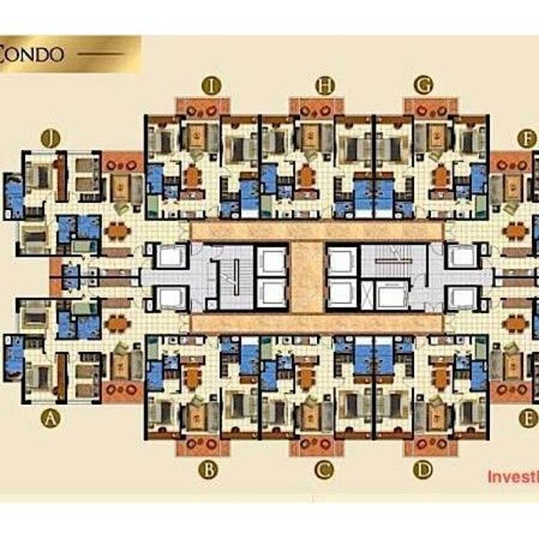 Apartment / Condominium Taman Anggrek Residence 3 BR Murah Harga Modal