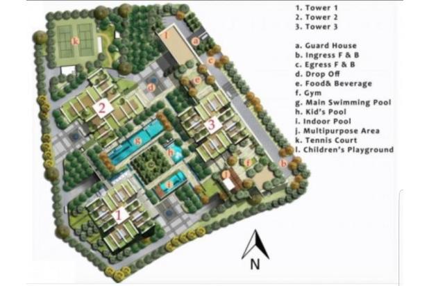 Rp7,65mily Apartemen Dijual
