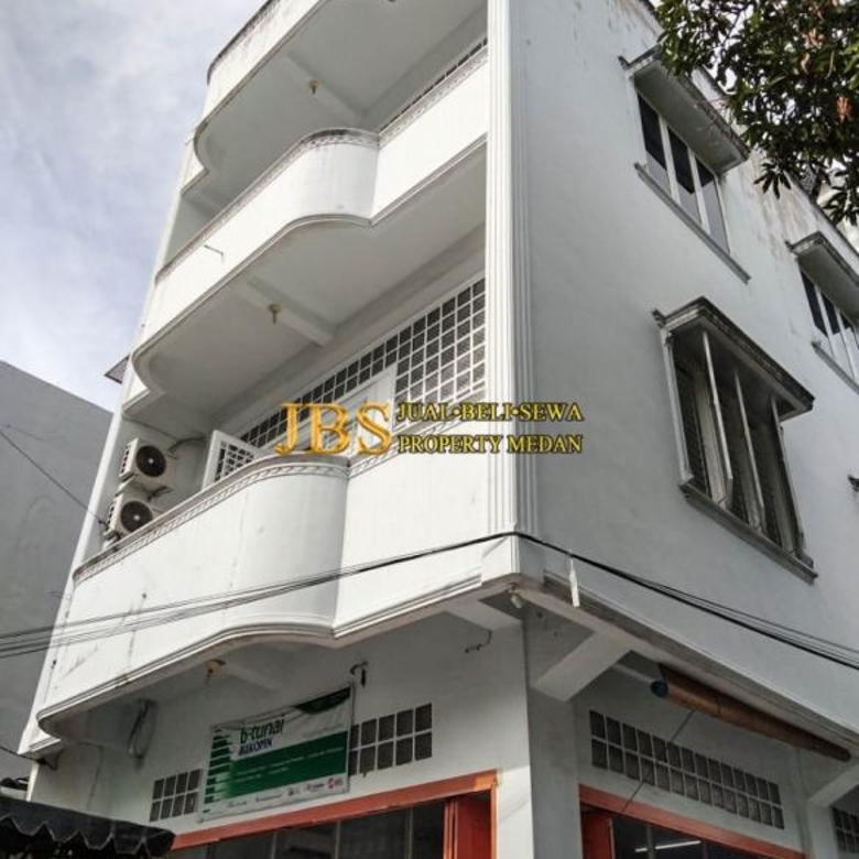 Dijual Ruko Sudut Jalan karo simpang jalan toba