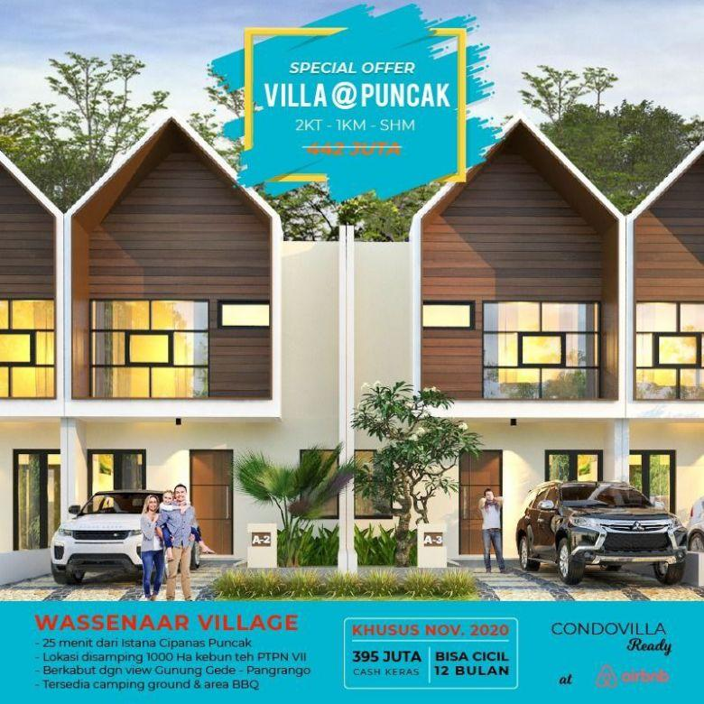 Investasi Villa Puncak Di Kawasan Perkebunan Teh PTPN VIII