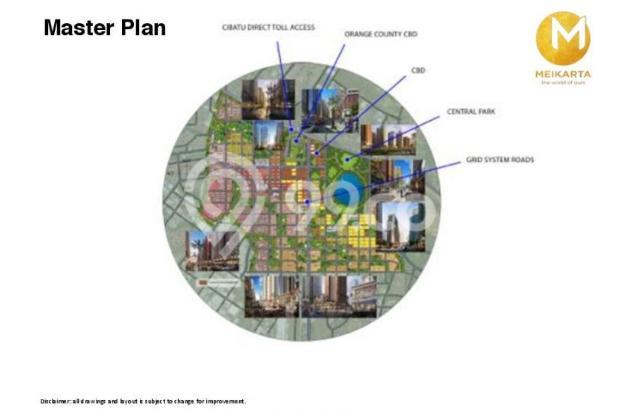 Dijual Apartemen Baru 2BR Strategis di Meikarta Tower 1B Bekasi 13127132