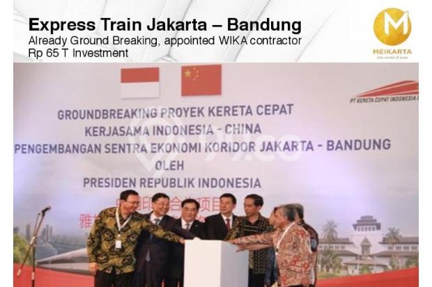 Dijual Apartemen Baru 2BR Strategis di Meikarta Tower 1B Bekasi 13127131