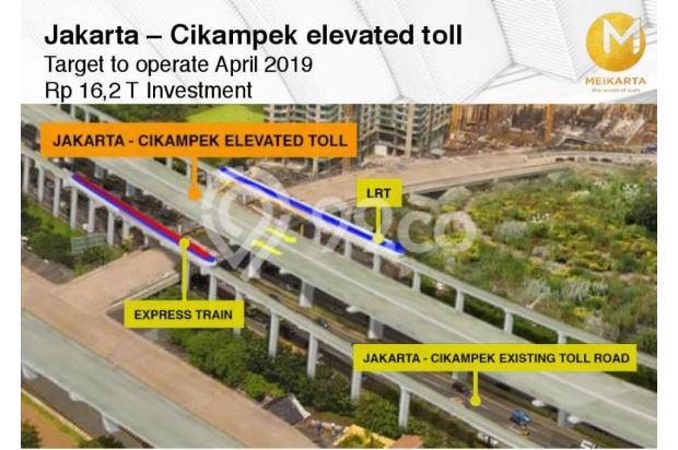 Dijual Apartemen Baru 2BR Strategis di Meikarta Tower 1B Bekasi 13127143