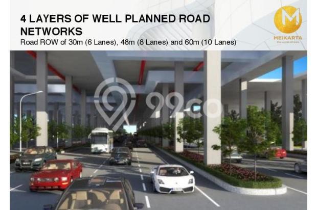 Dijual Apartemen Baru 2BR Strategis di Meikarta Tower 1B Bekasi 13127152