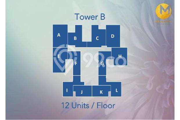 Dijual Apartemen Baru 2BR Strategis di Meikarta Tower 1B Bekasi 13127181
