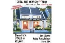 Rumah Citraland NSW City Driyorejo Gresik Baru Murah