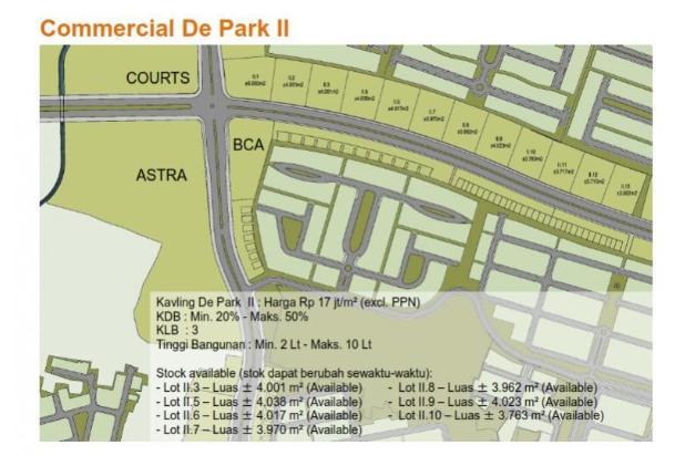 Rp68,2mily Tanah Dijual