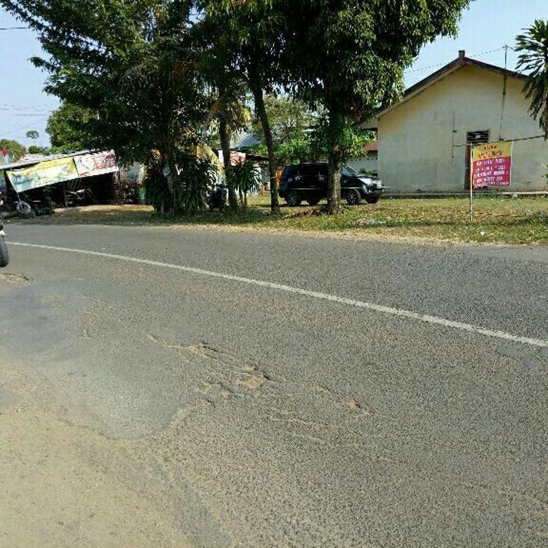 Rumah dipinggir jalan kota Bengkulu , Ramai cocok untuk bisnis  bangun Ruko