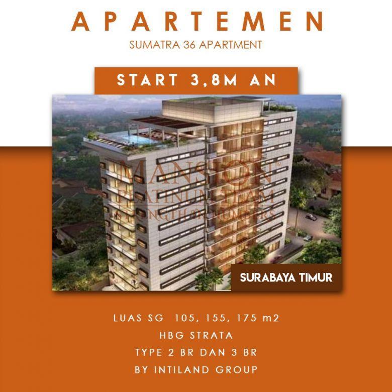 Apartemen murah sumatra 36 intiland surabaya kota dekat tp new