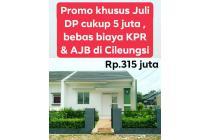 Murah, DP 5 juta, bebas biaya2 & Readystock di Cleungsi